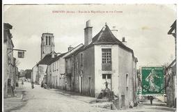 Aube ESSOYES Rue De La République Et Rue Creuse - Essoyes