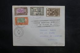 CÔTE DES SOMALIS - Enveloppe De Djibouti Pour Marseille En 1942 , Cachet Du Blocus , Affranchissement Plaisant - L 36416 - Covers & Documents