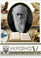Ukraine 2019, Scientist-Naturalist Charles Darwin, 1v - Ukraine