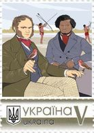 Ukraine 2019, Scientist-Naturalist Charles Darwin, 1v - Oekraïne