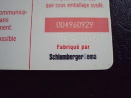 Télécarte 120unités  SC7  SOTELMA - Mali