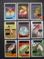 CONGO ZAIRE Lot De 9 Timbres Neufs MNH Stamps 1999 2000 Animal Animaux Papillon Butterfly - Dem. Republik Kongo (1997 - ...)