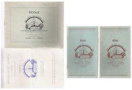 école Rhode St Genése  1958 - Autres Collections