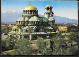 BULGARIA - SOFIA - CHIESA ALEXANDER NEWSKI - VIAGGIATA 1968 - Bulgaria