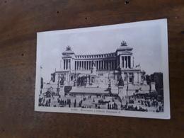 Cartolina Postale 1922, Roma, Altare Della Patria - Altare Della Patria