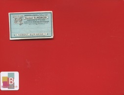 NOGENT SUR SEINE MONGIN  Pharmacien  ETIQUETTE ANCIENNE PHARMACIE CHEMIN FER EST CIRCA 1900 - Etichette