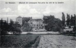 Belgique - Namur - Pensionnat Notre-Dame - Les Balances ( Salzinnes ) Maison De Campagne Vue Prise Du Côté De La Sambre - Namur