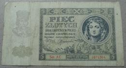 Poland 5 Zlotych 1941. C1 - Pologne