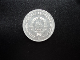 YOUGOSLAVIE : 1 DINAR  1953    KM 30     SUP - Joegoslavië
