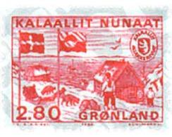 Ref. 96926 * MNH * - GREENLAND. 1986. INDEPENDENCE OF GREENLANDS POSTAL ADMINISTRATION . INDEPENDENCIA DE LA ADMINISTRAC - Bateaux