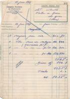 38-1652     1947 COMPTOIR FOREZIEN DE PARFUMERIE A SAINT JEAN DE BONNEFONDS - M. CRETON A RIVE DE GIER - France