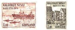 Ref. 96863 * MNH * - GREENLAND. 1974. 200th ANNIVERSARY OF ROYAL COMMERCE CHAMBER . 200 ANIVERSARIO DE LA CAMARA DE COME - Bateaux