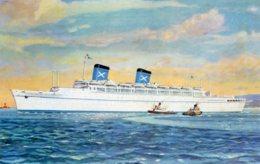 AUSTRALIA - Steamship AUSTRALIS 1966 Postmark With Slogan - Chandris Lines - Steamers