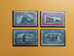 COLONIE ITALIANE - Milizia I° Nn. 116/19 Nuovi ** (ingiallimenti Carta) + Spese Postali - Eritrea