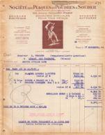 38-1896     1948 SOUDURE SPECIALES POUR TOUS METAUX SOCIETE DES PLAQUES ET POUDRES A SOUDER A PARIS - M. RIBIERE A LUSSA - France