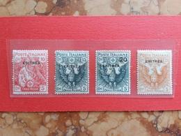 COLONIE ITALIANE - ERITREA - Croce Rossa Nn. 41/44 Nuovi * (1 Valore Punti Ruggine) + Spese Postali - Erythrée