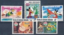 °°° TURKS&CAICOS ISLAND - KILOWARE 1980/83/84 MNH °°° - Turks E Caicos