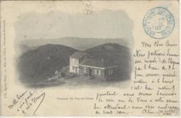 CPA Dept 63 PUY DE DOME Dos 1900 Obliteration Observatoire Du Puy De Dome - Other Municipalities