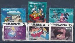 °°° MALDIVES - WALT DISNEY 1987 MNH °°° - Maldive (1965-...)
