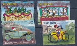 °°° ST. VINCENT UNION ISLAND - WALT DISNEY 1989 MNH °°° - St.Vincent E Grenadine