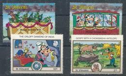 °°° ST. VINCENT UNION ISLAND - WALT DISNEY 1988 MNH °°° - St.Vincent E Grenadine