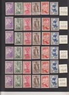 Grandes Séries Coloniales - 1937 Expo. Inter. Paris 15 Pays - X Et XX (rousseurs) - Cote 228 Eur - Prix De Départ 50 Eur - France (ex-colonies & Protectorats)