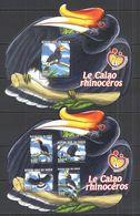 ST2781 2014 NIGER FAUNA BIRDS LES CALAO RHINOCEROS 1KB+1BL MNH - Altri
