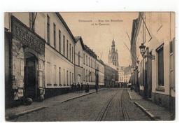 Tienen  Tirlemont - Rue Des Récollets Et La Caserne 1909 - Tienen