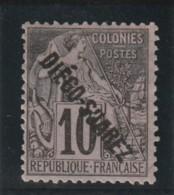 DIEGO - SUAREZ  Timbre Des Colonies Françaises Surchargés N° 17 * - Nuovi