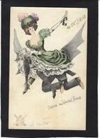 CPA MOUTON Femme Girl Women Non Circulé Champagne Moulin Rouge érotisme - Women