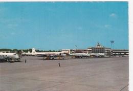 AEROPORTO-AEROPORT-AIRPORT-FLUGHAFEN-AERODROM-LINATE-MILANO-CARTOLINA VIAGGIATA IL 15-7-1970 - Aerodromi