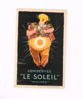 """Conserves """"Le Soleil"""", Malines. - Mechelen"""