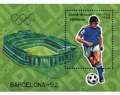 Ref. 68236 * MNH * - GUINEA BISSAU. 1989. GAMES OF THE XXV OLYMPIAD. BARCELONA 1992 . 25 JUEGOS OLIMPICOS VERANO BARCELO - Summer 1992: Barcelona