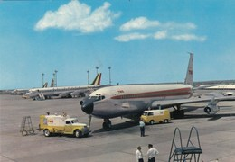 AEROPORTO-AEROPORT-AIRPORT-FLUGHAFEN-AERODROM-FIUMICINO-ROMA-CARTOLINA NON VIAGGIATA - Aerodromi