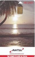 TARJETA DE LAS SEYCHELLES DE UNA PUESTA DE SOL (SUNSET) - Seychellen