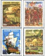 Ref. 322379 * MNH * - GUINEA BISSAU. 1987. 500th ANNIVERSARY OF AMERICA  DISCOVERY . 500 ANIVERSARIO DEL DESCUBRIMIENTO - Non Classificati
