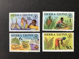 Sierra Leone World Food Day Set - Sierra Leone (1961-...)