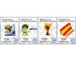 Ref. 254386 * MNH * - EQUATORIAL GUINEA. 2010. COPA DEL MUNDO DE FUTBOL. SUDAFRICA-2010 - Wereldkampioenschap