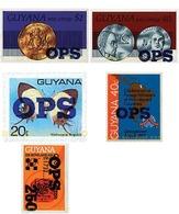 Ref. 609730 * MNH * - GUYANA. 1982. DIFFERENT CONTENTS . MOTIVOS VARIOS - Guiana (1966-...)
