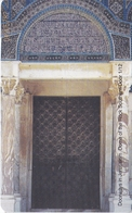 TARJETA DE JORDANIA DE 2JD DE UNA PUERTA DE JERUSALEM - Giordania