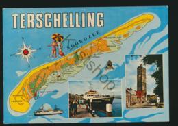 Terschelling - TOPO  - Gelopen Met Pz [AA44 0.052 - Pays-Bas