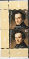 2009 Allem. Fed. Deutschland Mi. 2720 **MNH 200. Geburtstag Von Felix Mendelssohn Bartholdy - [7] Repubblica Federale