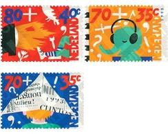 Ref. 29881 * MNH * - NETHERLANDS. 1993. CHILD WELFARE. CHILDREN AND MEDIA . PRO INFANCIA. EL NIÑO Y LOS MEDIOS - Musik