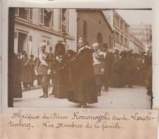 OBSEQUES DE PRINCE ROMANOFFESKI DUC DE LEUCHTENBERG 18*13CM Maurice-Louis BRANGER PARÍS (1874-1950) - Célébrités