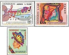 Ref. 324189 * MNH * - HONDURAS. 1996. FIGHTING DRUGS ABUSE . LUCHA CONTRA LA DROGA - Music