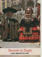 Postal 008319: Los Gigantillos De Burgos - Cartes Postales