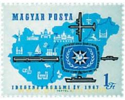 Ref. 55178 * MNH * - HUNGARY. 1967. INTERNATIONAL TOURISM YEAR . AÑO INTERNACIONAL DEL TURISMO - Treni