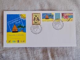 FDC : Enveloppe 1er Jour : La Philatelie A L'Ecole - Covers & Documents