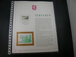 """BELG.1979 1947 FDC Filatelic Gold Card NL. : """" TERVUREN """" - 1971-80"""