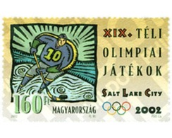 Ref. 98616 * MNH * - HUNGARY. 2002. XIX OLYMPIC WINTER GAMES. SALT LAKE CITY 2002 . 19 JUEGOS OLIMPICOS INVIERNO. SALT L - Hiver 2002: Salt Lake City